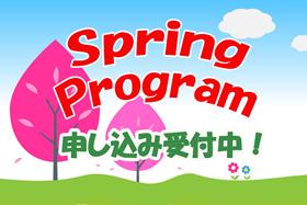 スプリングプログラム