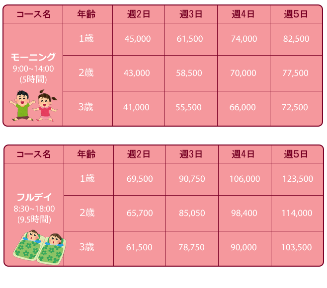 preschool-jap-prices