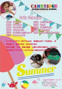 Summer program 2017B 2